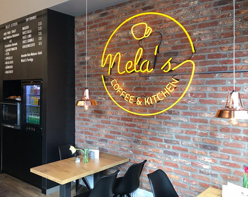Herbestemming koffiebar Nela's te Aken