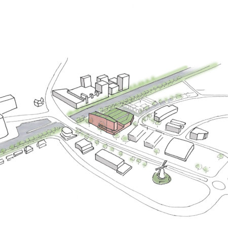 Aanbesteding stadsbruglocatie weert